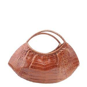 Nancy Gonzalez Crescent Satchel Bag 180584